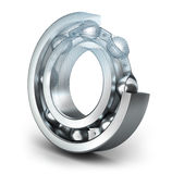 Detailed bearing design royalty free illustration