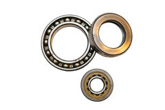 Detailed bearings stock images