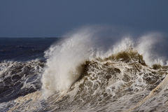 Detailed big wave Stock Photo