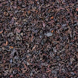 Detailed Black Loose Tea Leaf Texture Pattern, Large Detailed Macro Closeup, Textured Background Stock Images