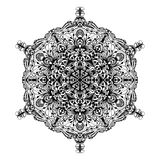 Detailed black ornament Royalty Free Stock Image
