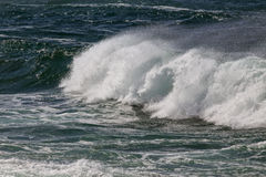 Detailed breaking wave Royalty Free Stock Photography