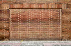 Detailed brick wall background texture Royalty Free Stock Image