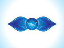 Detailed brow chakra. Vector illustration Stock Photo