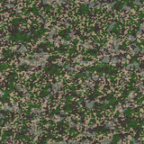Detailed Camouflage Fabric. Seamless Texture. Royalty Free Stock Image