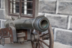 Detailed Cannon Ball View Stock Images