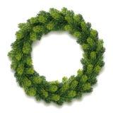 Detailed Christmas Wreath Royalty Free Stock Photos