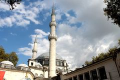Mosque. Detailed close look at the cami royalty free stock photo