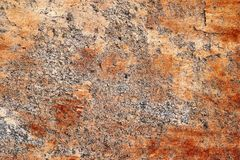 Detailed close up surface of cracked and weathered concrete walls in high resolution royalty free stock image