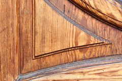 Detailed close up view on different wood surfaces showing planks logs and wooden walls in high resolution. Found in germany stock image