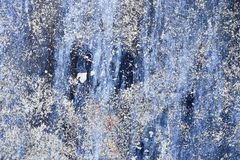 Detailed close up view on old and weathered concrete walls. Found at a lost place in germany stock images