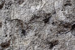 Detailed close up view on old and weathered concrete walls. Found at a lost place in germany stock photography