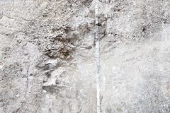 Detailed close up view on old and weathered concrete walls. Found at a lost place in germany royalty free stock photos