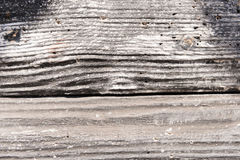 Detailed close-up of a wooden panelling. For background purposes Stock Images