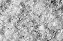 Detailed Coarse Salt Texture Background Royalty Free Stock Images