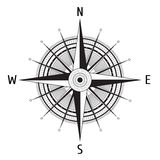 Detailed Compass Windrose Royalty Free Stock Photography