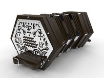Detailed concertina Royalty Free Stock Photo