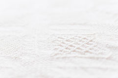Detailed cotton texture Royalty Free Stock Images