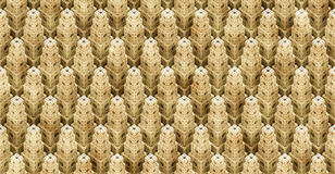Detailed 3d cube objects arranged to an abstract city background (seamless) Stock Photography