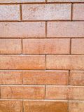 Detailed design of the brick wall background. Stock Photography