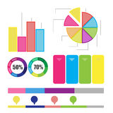 Detailed element of info-graphics Royalty Free Stock Image