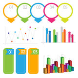 Detailed element of info-graphics Royalty Free Stock Images
