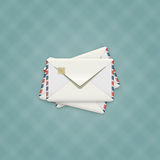 Detailed Envelope Illustration Royalty Free Stock Images