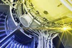 The jet engine Royalty Free Stock Images