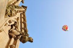 Stone gargoyle & water spout, University Church of St. Mary The Virgin, Oxford