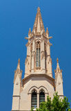 Detailed facade of Catholic church in Spain Royalty Free Stock Images