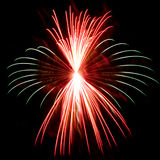 Detailed Firework Closeup Royalty Free Stock Photo