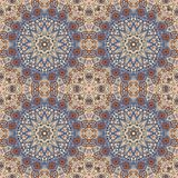 Detailed floral and paisley scarf design, fabric, bandana. Stock Photography
