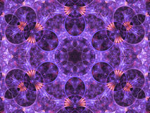 Detailed fractal pattern Stock Images