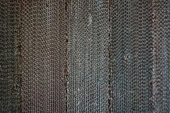 Detailed fragment of dirty air filter surface. stock photos