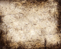 Detailed grunge texture template. Royalty Free Stock Image