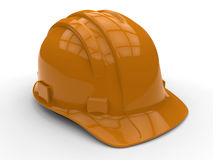 Detailed hard hat with path Stock Image