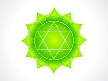 Detailed heart chakra Royalty Free Stock Photos