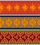 Detailed Henna Borders Royalty Free Stock Photos