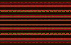 Detailed Horizontal Traditional Handcrafted Black Sadu Rug. A Detailed Horizontal Traditional Handcrafted Black Sadu Rug Pattern Design Stock Image