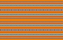 Detailed Horizontal Traditional Handcrafted Orange Sadu Rug. A Detailed Horizontal Traditional Handcrafted Orange Sadu Rug Carpet Geometric Patterns Royalty Free Stock Image