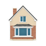 Detailed house icon Royalty Free Stock Images