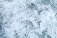 Detailed ice fragments texture Stock Image