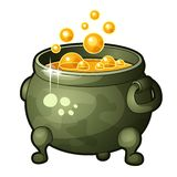 Detailed Icon of Magician Potion Royalty Free Stock Photo