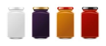 Clear Jar mockup. Big size stock photos