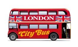 London City Bus Royalty Free Stock Photography