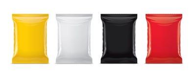 Plastic Bag Mockup Royalty Free Stock Photos