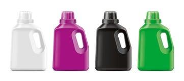 Plastic Bottles mockup. stock photography