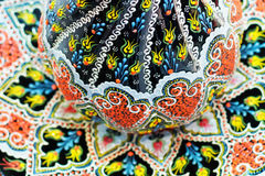 detailed image of a traditional Oriental ornament on Turkish por Royalty Free Stock Photo
