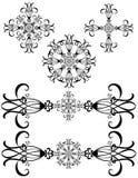 detailed infall för konst garneringar royaltyfri illustrationer