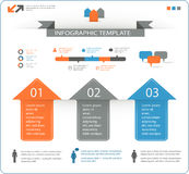 Detailed infographic elements set with options Stock Images